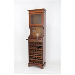 Wayborn Wine Rack in Brown