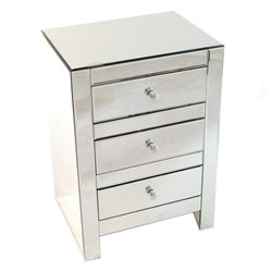 Wayborn 3 Drawer Mirrored Chest