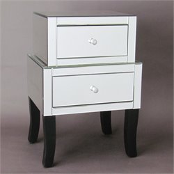 Wayborn Beveled Mirrored Chest