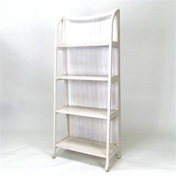 Basswood Display Stand in Whitewash