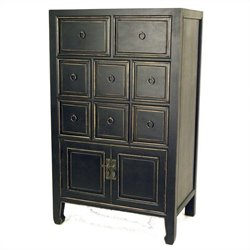 Wayborn Suchow Accent Chest in Antique Black