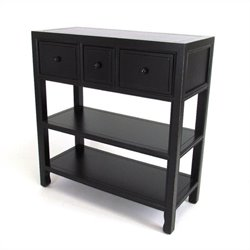 Wayborn Suchow Console in Antique Black