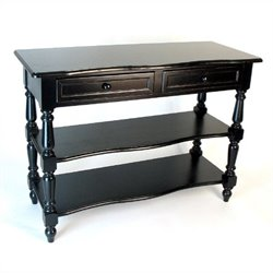 Birchwood Sofa Table in Black