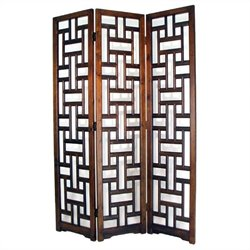 Room Divider in Brown