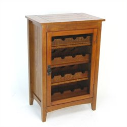 Wine Cabinet in Oak