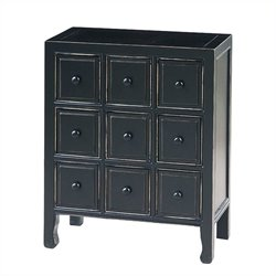 CD Chest in Antique Black