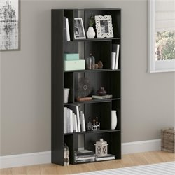Expandable Bookcase in Midnight Onyx