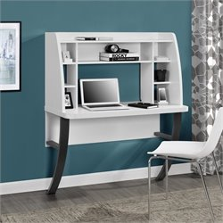 Wall Mounted Desk in White