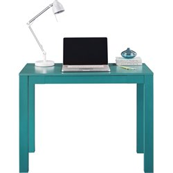 Writing Desk in White and Teal