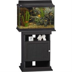 Aquarium Stand in Midnight Onyx