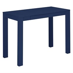 Writing Desk with Drawer in Navy