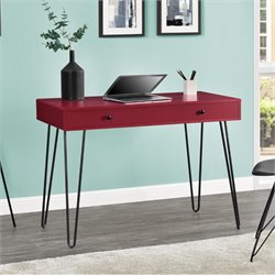 Retro Writing Desk in Red