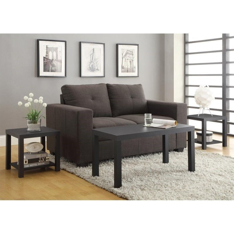 living room coffee table sets 3 piece coffee and end table set in