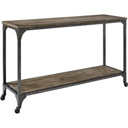 Console Table in Rustic