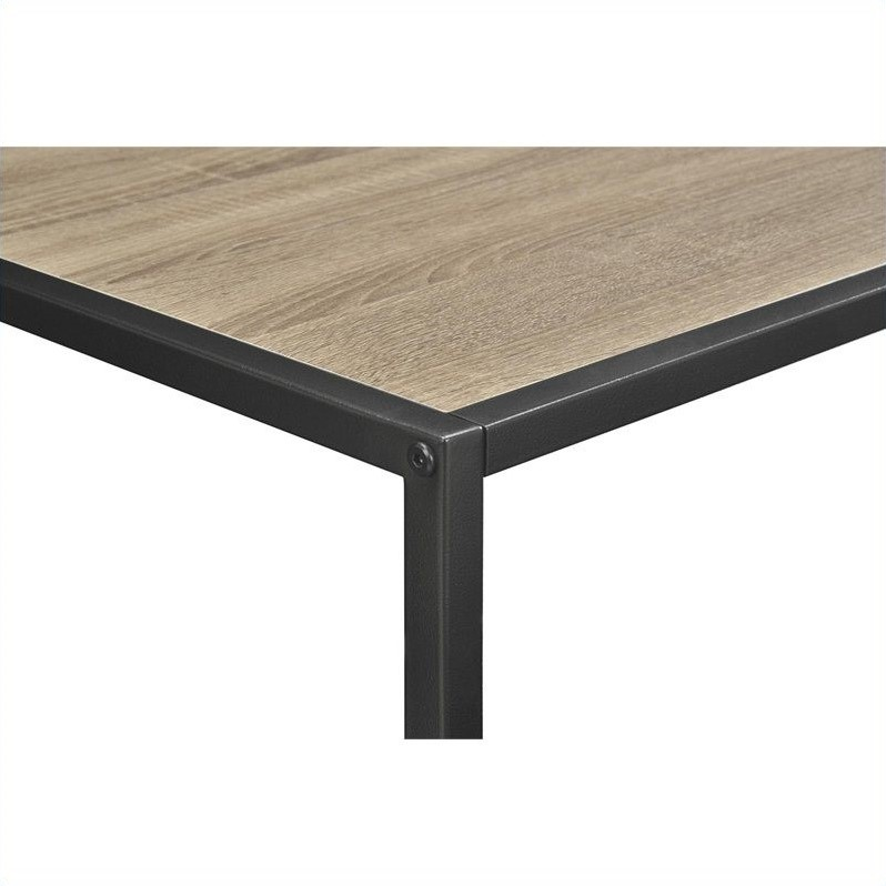 Coffee Table With Metal Frame In Sonoma Oak 5070096pcom