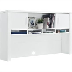 Hutch for Home Office in White