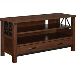 TV Stand in Dark Cherry