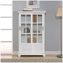 4 Shelf Bookcase in White