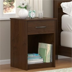 Altra Core 1 Drawer Nightstand in Northfield Alder
