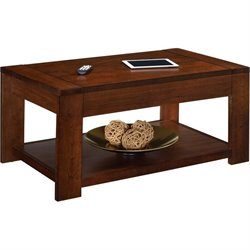 Coffee Table with Lift Top in Cherry
