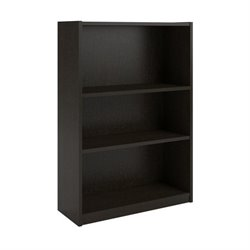 3-Shelf Bookcase in Black Forest