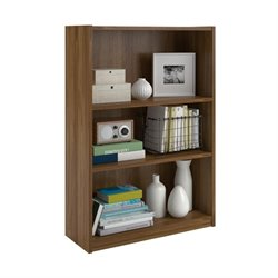 3-Shelf Bookcase in Bank Alder