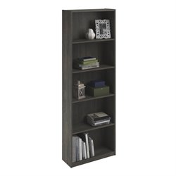 5-Shelf Bookcase in Rodeo Oak