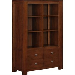 6 Cube Bookcase in Madison Cherry