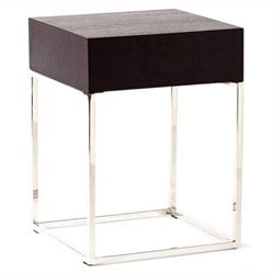 Moe's Chio Side Table in Black Oak