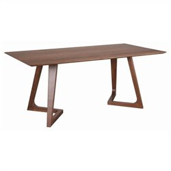 Moe's Godenza Large Rectangular Dining Table in Walnut