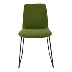 Moe's Ruth Dining Chair in Green