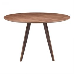 Moe's Dover Small Dining Table in Walnut