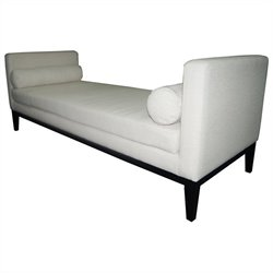 Moe's Lexington Day Bed in White
