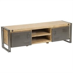 Moe's Brooklyn Large TV Table in Dark Brown