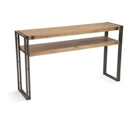 Moe's Brooklyn Console Table in Dark Brown