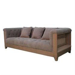 Moe's Home Collection Marseille Sofa in Gray