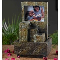 Jeco Photo Frame Tabletop Fountain