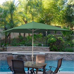 10' Aluminum Market Patio Umbrella with Crank (64)