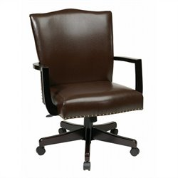 Manager's Office Chair In Espresso Finish