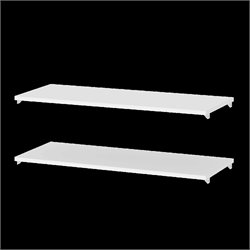 2 Shelf Expansion Pack in White