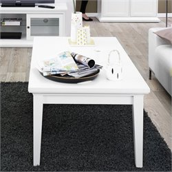 Tvilum Sonoma Coffee Table in White