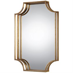 Uttermost Lindee Decorative Mirror in Gold