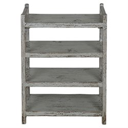 Uttermost Reilley Shoe Rack in Gray