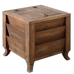 Uttermost Rimmon End Table in Wood