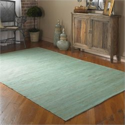 Uttermost Aruba Rug in Blue Seafoam