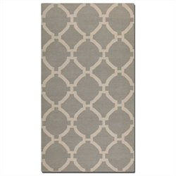 Uttermost Bermuda Wool Rug in Light Gray