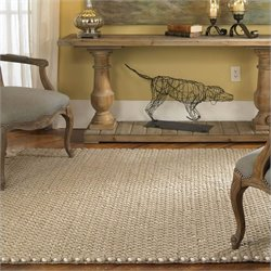 Uttermost Juntura Wool Rug in Beige and Off-White
