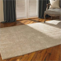 Uttermost Paris Wool Rug in Light Camel Brown