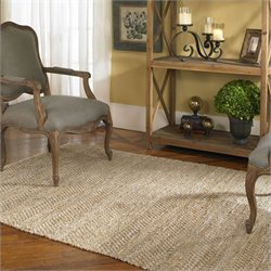Uttermost Tobais Rug in Beige and Gray