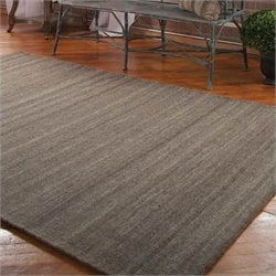 Wellington Rug in Taupe Gray